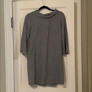 Theory Wool Shift Dress Size 8